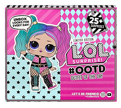 L.O.L. Surprise! Advent Calendar with Limited Edition Doll and 25+ Surprises