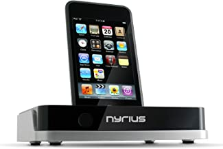 Nyrius NIC708 Media Fusion TV Video Dock for iPod with On-screen Navigation, Remote Control, USB/SD & MPEG4/AVI/MP3/JPEG photo