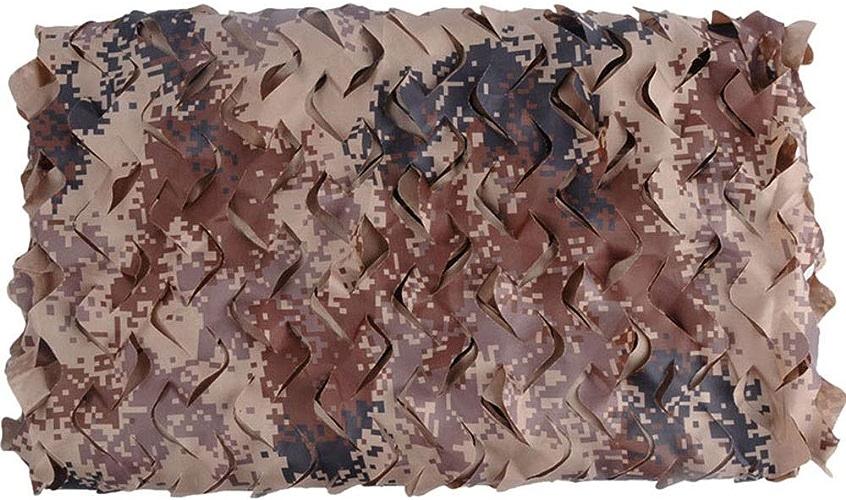 Yunyisujiao 2m × 3m Couleur du désert Net Partie Cachée Décoration Camping Camp Chasse Aveugle (Couleur   5M×6M)