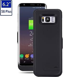 f2f20000478 Mondpalast@ Negro Externos 6500mah batería Funda Cargador Para Samsung  Galaxy S8 Plus S VIII PLUS