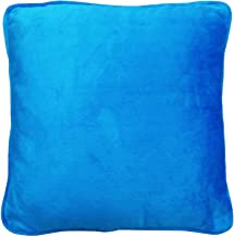 IBA Indianbeautifulart Indian Cushion Cover Plain Home Dacor Throw Pillow Velvet Case 24 X 24 Inches