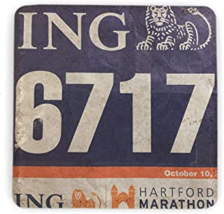 running bib coasters