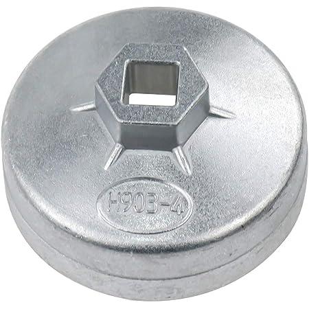 Rannb Oil Filter Cap Wrench 73mm Inner Dia Aluminum Alloy 14 Flute Model 903-4
