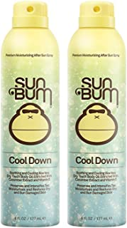 Sun Bum Cool Down pMNHo Hydrating After Sun, 6 oz - After Sun Spray (2 Pack)