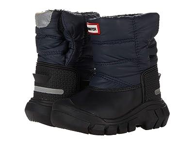 Hunter Kids Original Snow Boots (Toddler/Little Kid) (Navy/Black) Kid