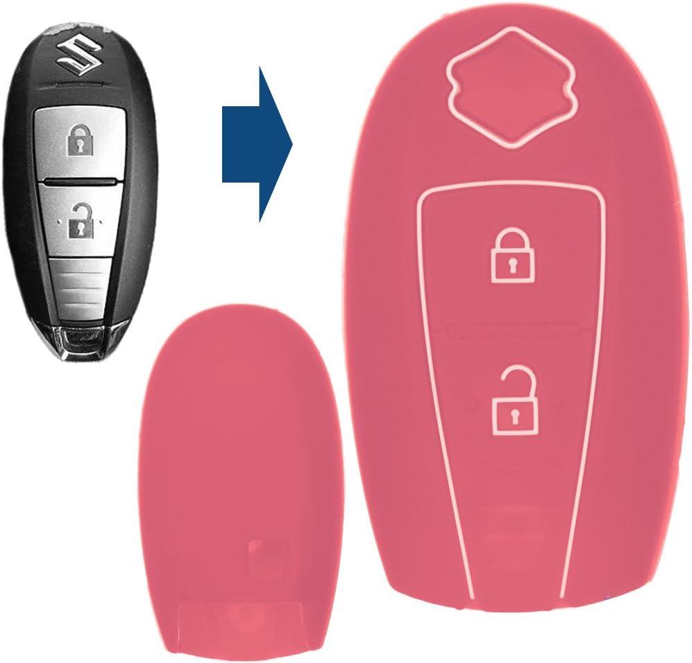 Soft Case Schutz Hülle Auto Schlüssel Smartkey Schwarz Für Suzuki
