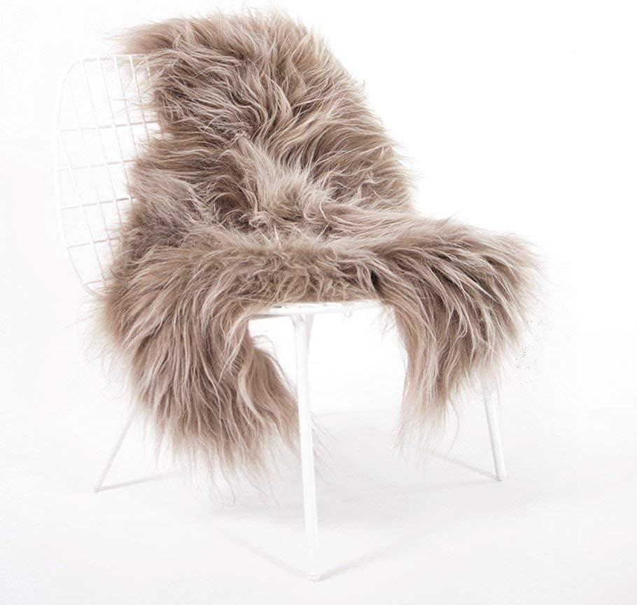 Low price Premium Hypoallergenic Natural Long Washington Mall Icelandic Hair She Taupe