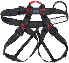 Gonex Arn/és de Escalada en Roca Cinturones de Seguridad para Monta/ñismo Alpinismo Expedici/ón Bomberos Banda Deportes Rappel Ajustable Equipo Medio Cuerpo para Mujer Hombre Ni/ños