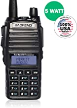 Baofeng Radio UV-82 MK3 2019 5W FCC APROOVED 2800 mAh Li-ion Battery Mirkit Edition and Lanyard Mirkit Ham Radio Operator, Walkie Talkies Dual Band Ham Two Way Radios