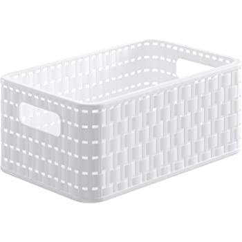 Plastique recycl/é Rose Bac Infinity 17L Dots Crates CURVER 35,5x26,2x21,9 cm
