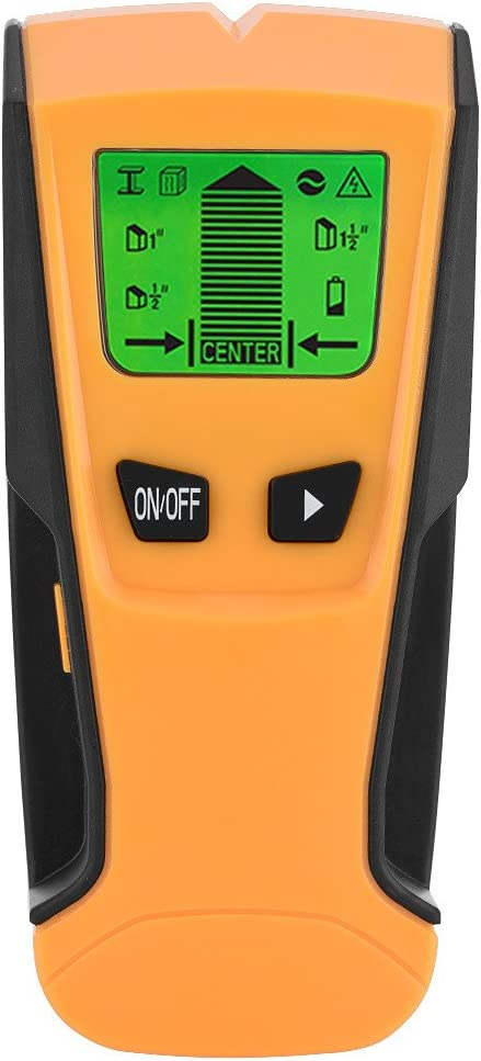 Mxzzand Wood Wall Center Scanner Live 1 3 Stud in half Detector Max 63% OFF Wire