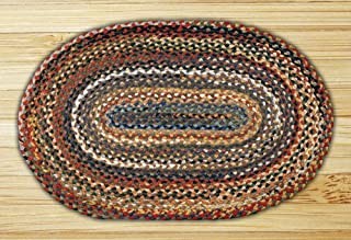 Earth Rugs 02-999 Oval Braided Rugs, 20