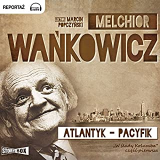 Atlantyk-Pacyfik audiobook cover art