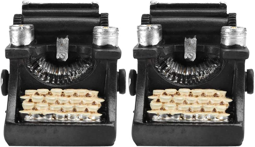 Ranvo Typewriter Statue Exquisite Tulsa Mall Popular shop is the lowest price challenge Mini 2 Decorations