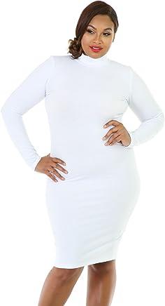 ec2615a7c4e GITI ONLINE Long Sleeve Turtleneck Bodycon Dress
