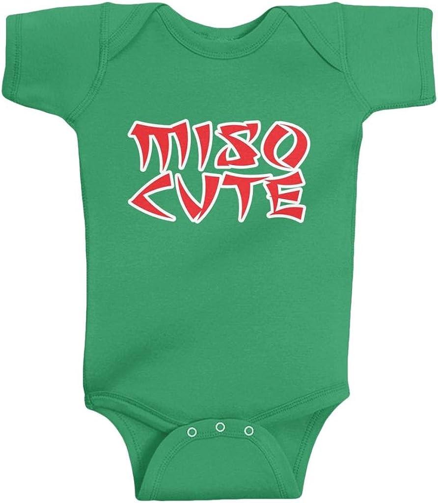 Threadrock Unisex Baby Miso Cute Bodysuit