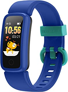BIGGERFIVE Vigor Fitness Tracker Watch for Kids Girls Boys Teens, Activity Tracker, Pedometer, Heart Rate Monitor, Sleep M...