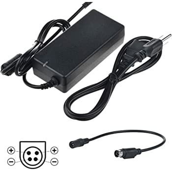 EA11001B-240 EA11001B240 24VDC 4.16A I.T.E w//4 Prong Connector. Power Supply Cord Cable Battery Charger Mains PSU SupplySource Global 4-Pin DIN 24V AC//DC Adapter for EDAC EDACPOWER ELEC