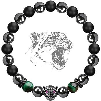 Hematite Stone Arrow Magnetic Bead Bracelet Anti-Stress Anxiety Jewelry Gift YU
