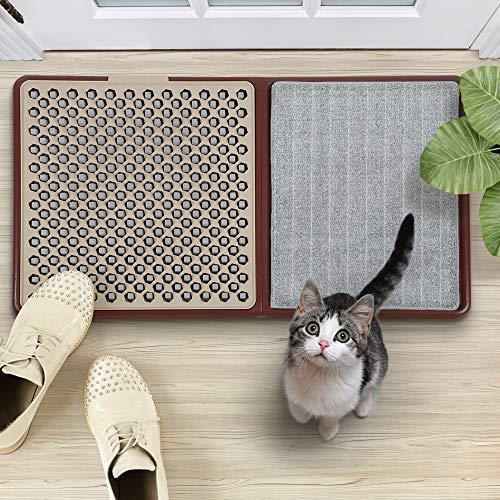 KKTECT Felpudo Desinfectante Entrada Casa Oficina para Calzado Tapete Sanitizante Incluyendo el de Secar