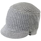 PUMA Mütze Snyder Knit Military Cap, Medium Gray Heather, OSFA