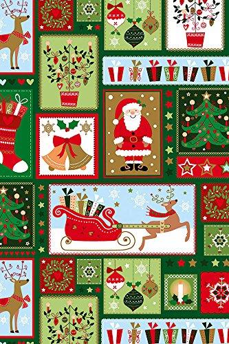 Stewo–2517763145carta regalo Babbo Natale, rotolo in formato, 50cm x 50m