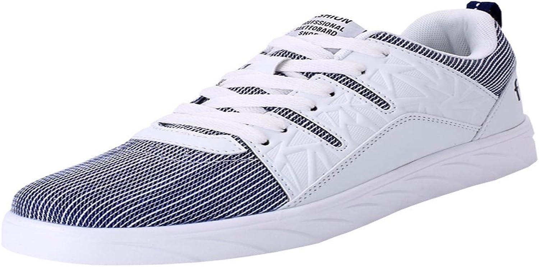 KMJBS Men'S Sneakers Summer Men'S Canvas shoes Sports shoes Student shoes Boys' shoes Thirty-Nine White