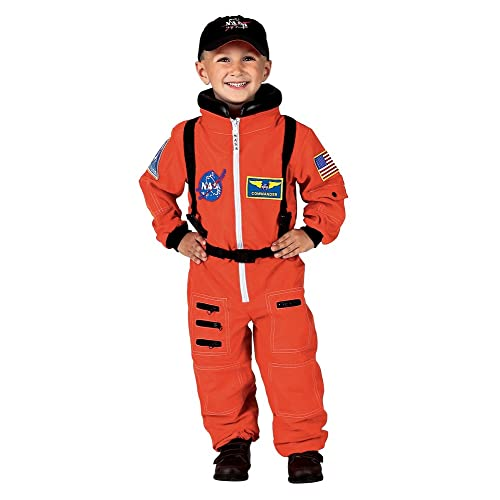 ffd45a97e2b Aeromax Personalized Jr. Astronaut Suit with Embroidered Cap and NASA  Patches