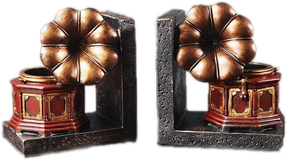BENO New products world's highest quality popular bookends Gifts Art Desktop Regular discount 1 Bookends,Decorative Pair