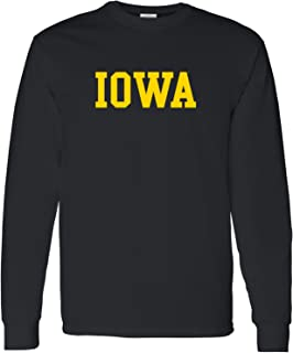 NCAA Officially Licensed College - University Basic Block Long Sleeve T Shirt