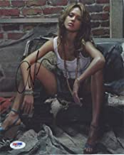 Jessica Alba Hot Signed 8x10 Photo Certified Authentic PSA/DNA COA