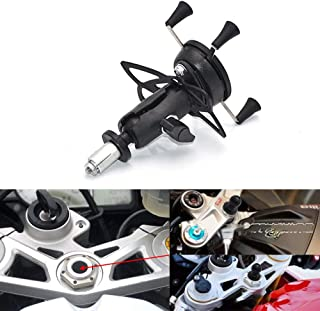 Mooreaxe Motorcycle Phone Camera Holder, Navigation Grips Bracket Adjustable For iPhone/Galaxy,Special For Yamaha R1 R6 BMW S1000RR Honda F5 CBR650F VFR1200