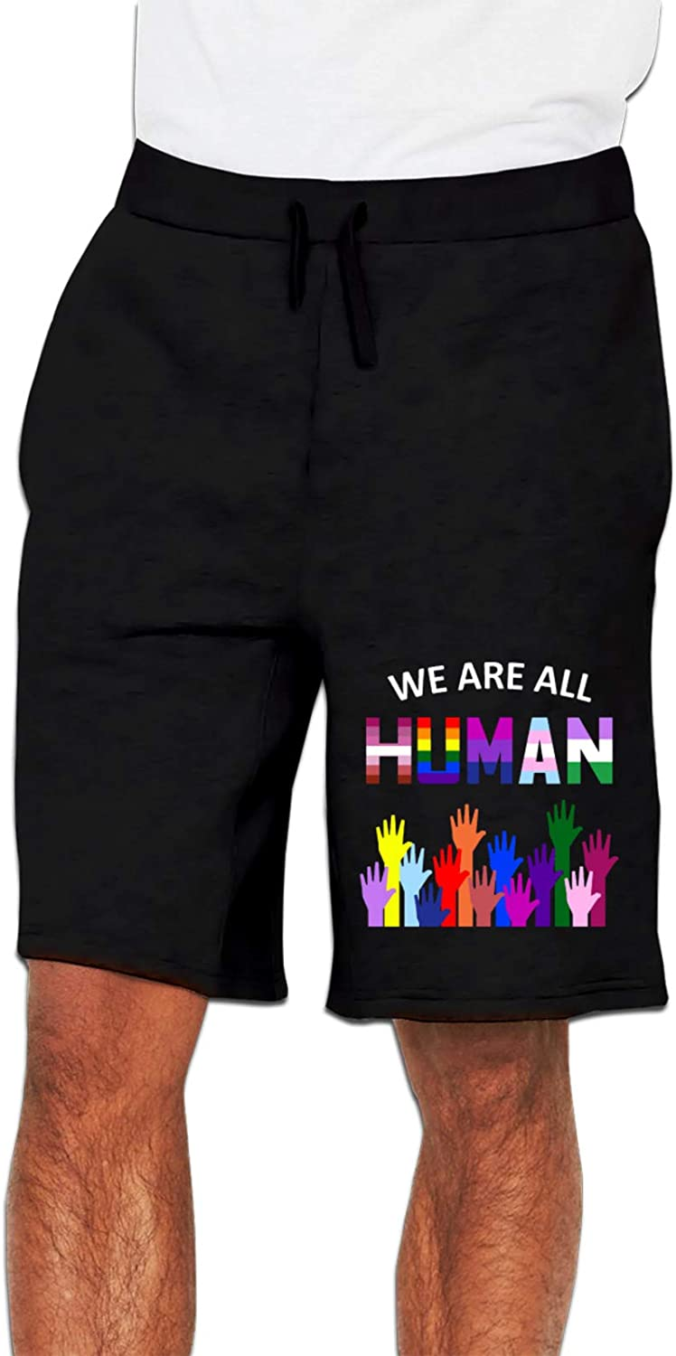 Today's only We are All Human LGBT Gay Rights Track Pants Man Casual Pride New life 1