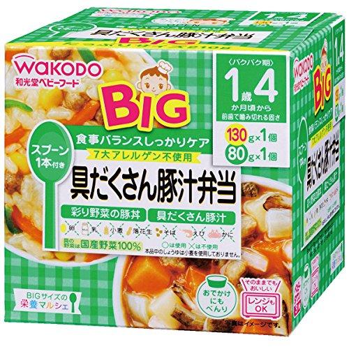 アサヒ 栄養マルシェ BIG 具だくさん豚汁弁当 箱210g [7926]