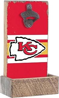 乡村风格 marlin 设计 NFL 球队颜色开瓶器,各种 teams ,7x 30.48cm x 4