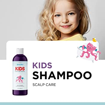 Cleansing Kids Shampoo for Dry Scalp - Dry Flaky Scalp Care Shampoo for Kids and Hair Build Up Remover with Tea Tree ...
