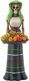 YTC Fruit Lady Skeleton with Basket of Fruit
