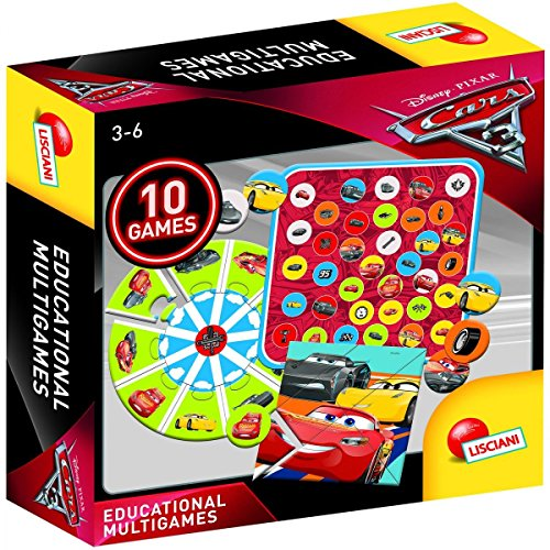 Disney Pixar Cars 3- Cars Coches 3 Educarional Multi Juegos, Color Multicolor, Talla única (Lisciani 61945)