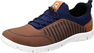 Salerno Side Stripe Contrast Sole Bungee Lace Sneakers for Men