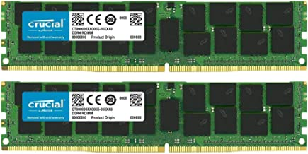 Crucial Bundle with 64GB (2 x 32GB) DDR4 PC4-21300 2666MHz RDIMM (2 x CT32G4RFD4266), Dual Ranked Registered ECC Memory