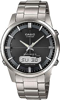 Casio WAVE CEPTOR Reloj Radiocontrolado y solar, Caja sólid