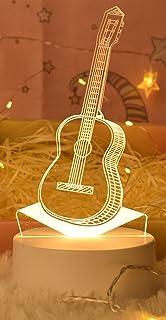 Warm Light LED Bedside Lamp (Guitar)