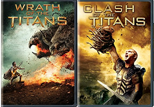 Clash of The Titans & Wrath of the Titans DVD Set Amazing Fantasy action mythology Double Feature