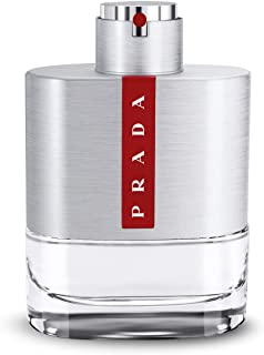 Prada Luna Rossa Eau de Toilette Spray for Men, 3.4 Ounce (Packaging may vary)