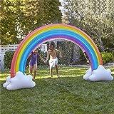 YYGQING 238cm Gigante Rianbow Cloud Yard Sprinkler Summer Backyard Backyard Toy Outdoor Juguete Piscina Accesorio Juego Juega Piscina