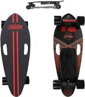 73HA73 Electric Mini Skateboard 2 in 1 Detachable Portable Skateboard 28 KM/H (17 MPH) Top Speed Remote Motorized Longboard Suitable for Adults Children Beginner