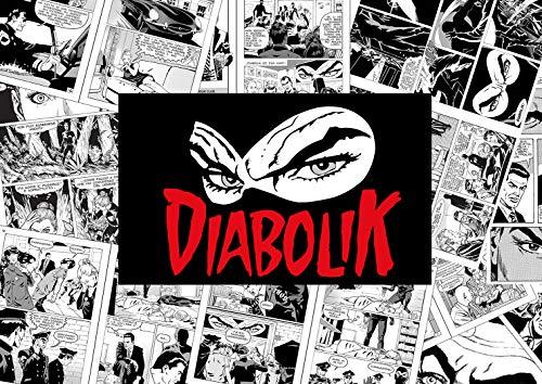 Ideastore Diabolik-Druck Comics mit Diabolik-Druck auf Forex, Aesyprint, Papier 30 g und auf Leinwand mit Keilrahmen, 42 x 30 cm