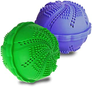 Wash Ball Laundry Balls, Wash Without Detergent,Set of 2