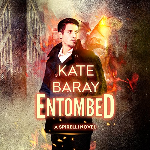 Entombed audiobook cover art
