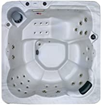 Hudson Bay Spa XP34 6 Person 34 Outdoor Spa with Stainless Jets & 110V Cord, 80